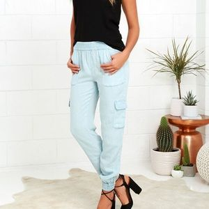 Gentle Fawn Chambray Jean Joggers